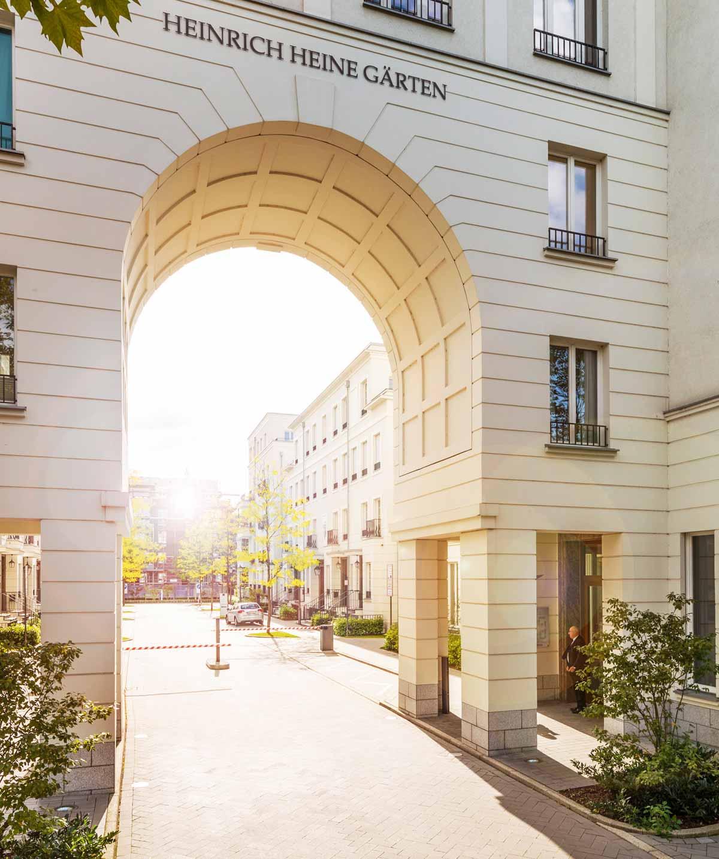Frankonia Projekt Heinrich Heine Gärten Visualisierung